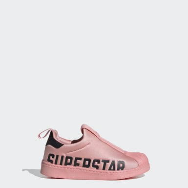 Kids Originals Pink Superstar 360 X Shoes