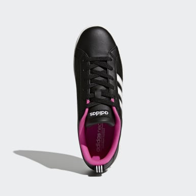 Women Tennis Black VS Advantage Shoes