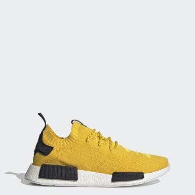 Sapatos NMD_R1 Primeknit Amarelo Originals