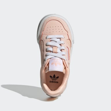Kids Originals Pink Continental Vulc Shoes