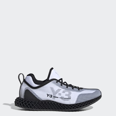 Y-3 White Y-3 Runner 4D IO