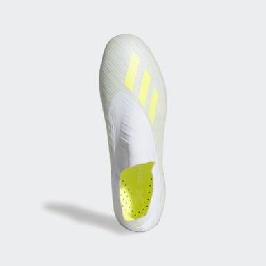 белый Футбольные бутсы X 18+ SG