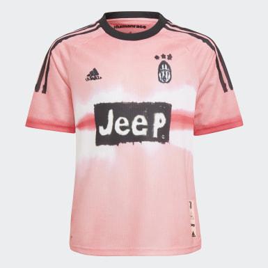 Camisola Human Race da Juventus Rosa Criança Futebol