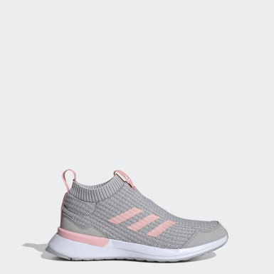 Youth Running Grey RapidaRun LL Shoes