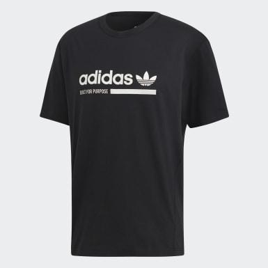 Erkek Originals Siyah Kaval Tişört
