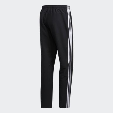 Men Lifestyle Black Essentials 3-Stripes Pants