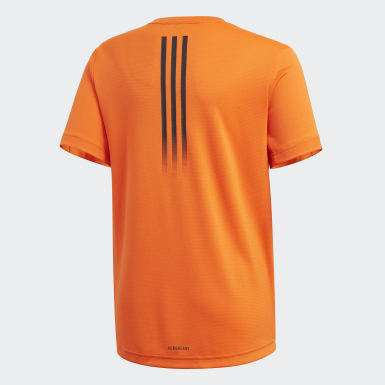 Boys Studio Orange AEROREADY T-Shirt
