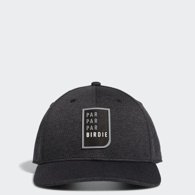 Men Golf Black Par Par Par Birdie Snapback Hat