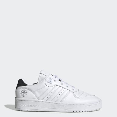Men's Originals White Rivalry Low Shoes