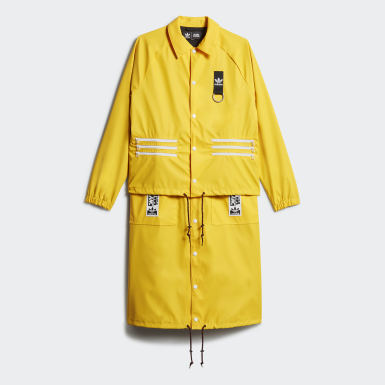 TRENCH COAT Amarillo Mujer Originals
