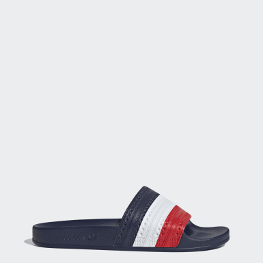 Originals Red Adilette Slides