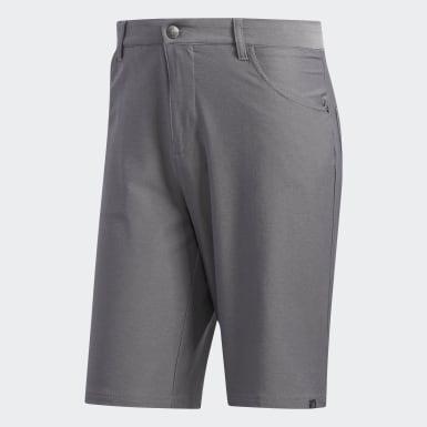 Men Golf Grey Ultimate365 Heather Five-Pocket Shorts