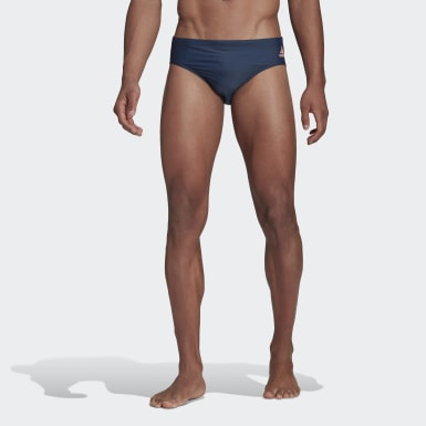 Herr Simning Blå Badge Fitness Swim Trunks