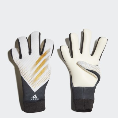 Youth 8-16 Years Football Grey X 20 League Goalkeeper Gloves