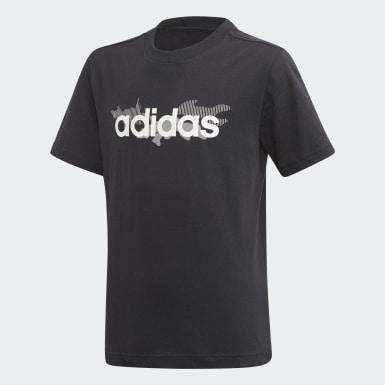 T-shirt Tasto Noir Garçons Training