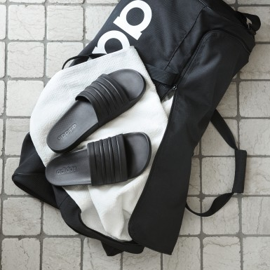 Træning Sort adilette Cloudfoam Plus Mono badesandaler