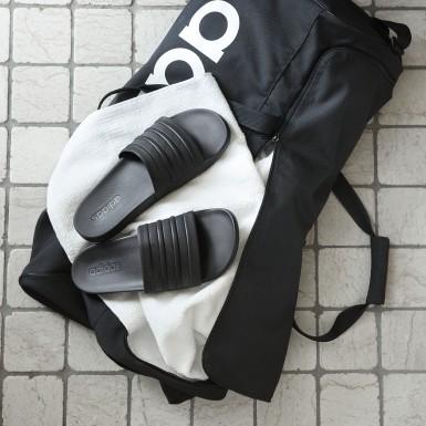 Zimní Sporty černá Pantofle adilette Cloudfoam Plus Mono