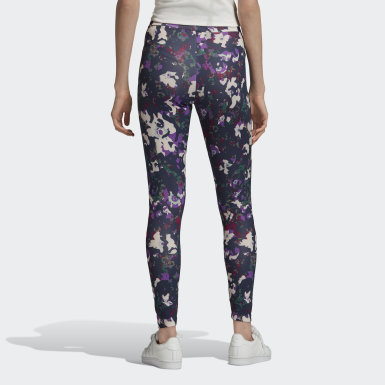 Women Originals Multicolour Allover Print Leggings