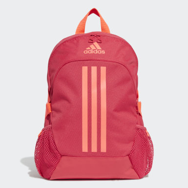 Girls Running Pink Power 5 Backpack Small