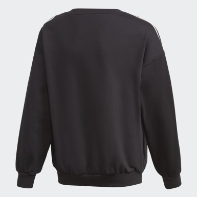 Sweatshirt Preto Raparigas Originals