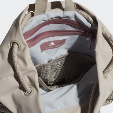 Dames adidas by Stella McCartney Beige Gym Tas