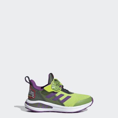 Sapatos FortaRun Super Hero Verde Criança Running