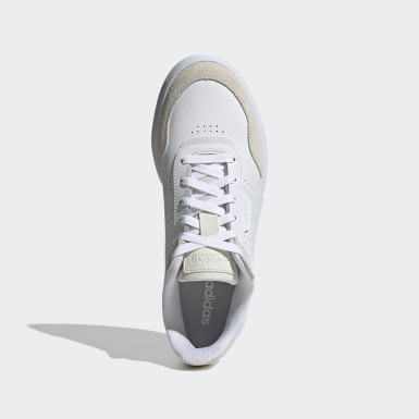 Men Sport Inspired White Courtphase Shoes
