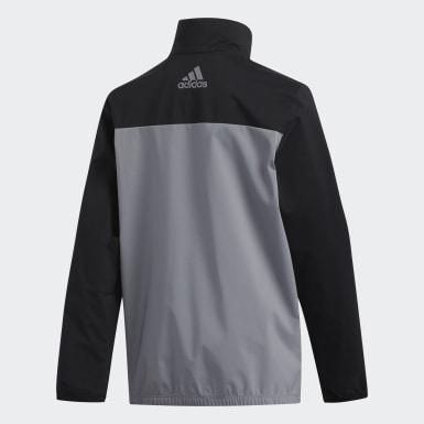 Jungen Golf Provisional Jacke Schwarz