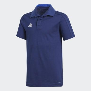 CON18 CO POLO Y Azul Niño Fútbol