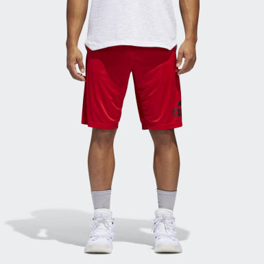 Men Basketball Red Crazylight Shorts