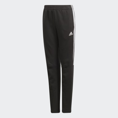 Pantaloni Must Haves Tiro Nero Ragazzo Training