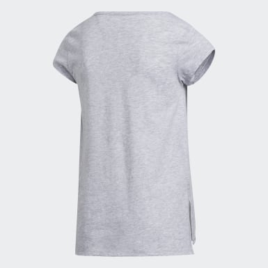 Youth Training Grey Side Vent Tee