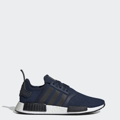 Men Originals Blue NMD_R1 Shoes