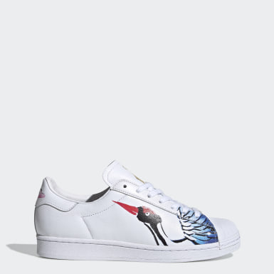 Chaussure Superstar Clean Blanc Originals