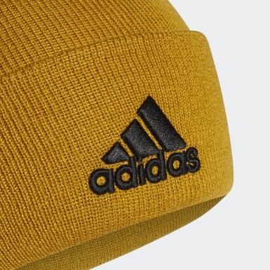 Trénink zlatá Čepice Logo