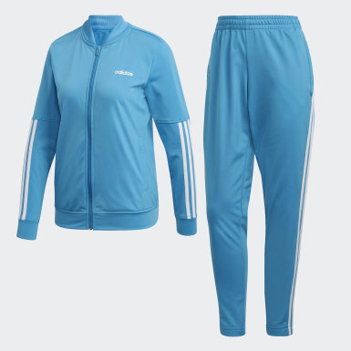 Pants Con Sudadera Wts Back2Bas 3 Stripes Turquesa Mujer Athletics
