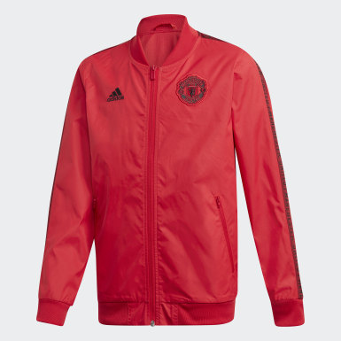 Veste Anthem Manchester United Rouge Garçons Football