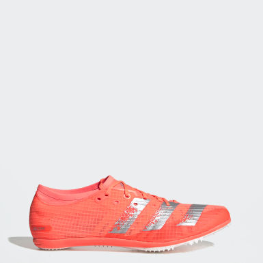 Men's Running Orange Adizero Ambition Spikes