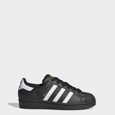 Youth Originals Black Superstar Shoes