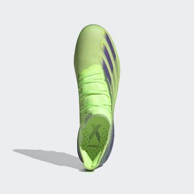 Fodbold Grøn X Ghosted.1 Artificial Grass støvler