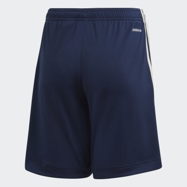 Barn Fotboll Blå Juventus 20/21 Away Shorts