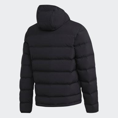 Doudoune Helionic Soft Hooded Noir Hommes Outdoor Urbain