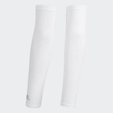 Men Golf White AEROREADY UV Arm Sleeve