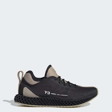 Y-3 Black Y-3 Runner 4D IO