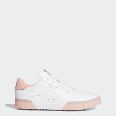 Chaussure de golf Adicross Retro blanc Femmes Golf