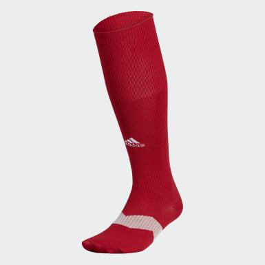 Men's Training Red Metro Soccer Socks 1 Pair