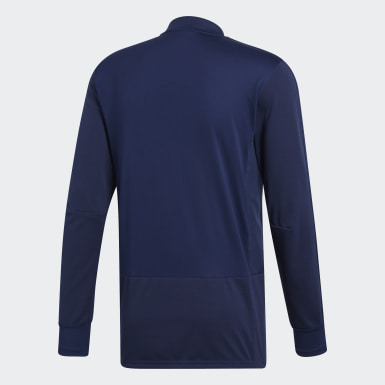 Camiseta manga larga entrenamiento Condivo 18 Player Focus Azul Hombre Training