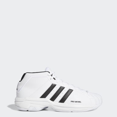 Basketball Sko Hvit | adidas NO
