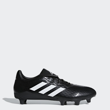 Men Rugby Black Engage Boots