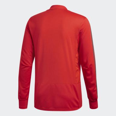 Heren Voetbal Rood FC Bayern München Trainingsshirt